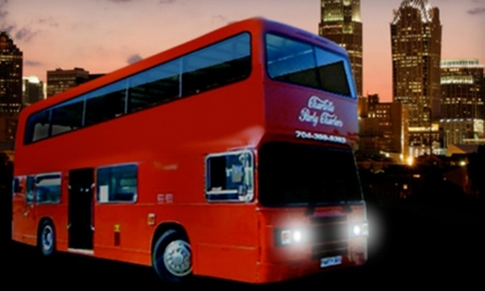 Charlotte Party Charters - Todd Park: $175 for Two-Hour Party-Bus Rental from Charlotte Party Charters ($350 Value)