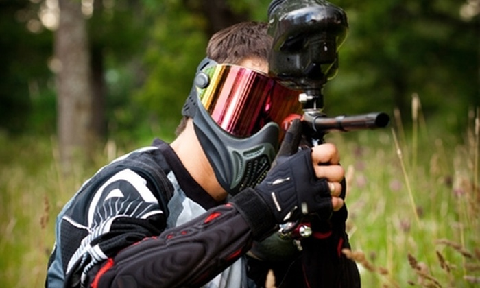 Brazos Splat Games - Rosenberg-Richmond: $15 for All-Day Admission, Equipment Rental, Unlimited Air, and 200 Paintballs at Brazos Splat Games in Richmond ($31 Value)
