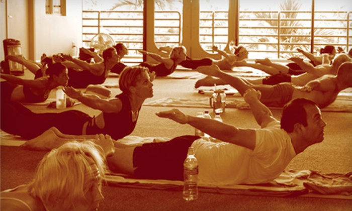 Bikram Yoga Boca Raton - Estancia of Via Verde South: 5 or 10 Classes at Bikram Yoga Boca Raton (Up to 75% Off)