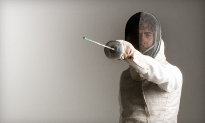 The Fencing Center - Central San Jose: $45 for a Two-Hour Group Introductory Fencing Class at The Fencing Center ($90 Value)