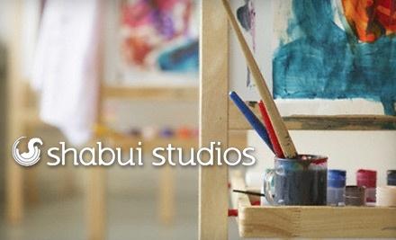 Shabui Studios: 1 Two-Hour Adult Art Class - Shabui Studios in Abbotsford