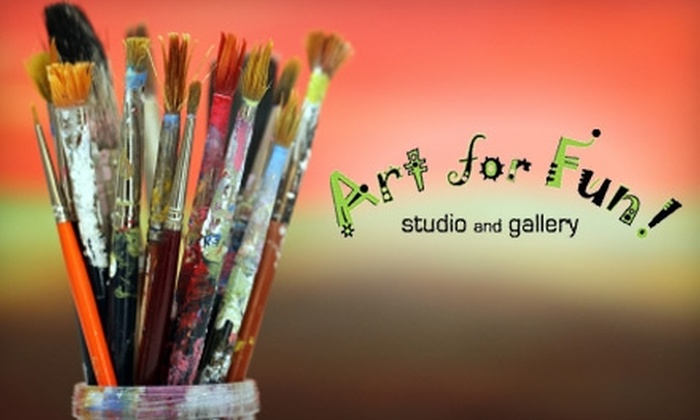 Art for Fun! Studio and Gallery - Encanto: $79 for Four Adult Art Classes at Art for Fun! Studio and Gallery ($170 Value)