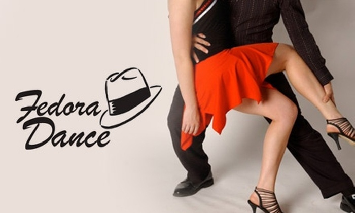 Fedora Dance - Lewiston Gardens: $15 for Six Weeks of Latin-Dance Classes of Your Choice from Fedora Dance ($30 Value)