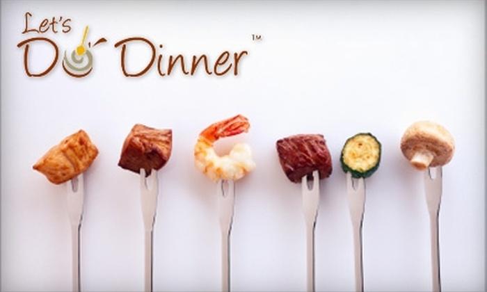 Let's Do Dinner - Arrowhead Ranch: $20 for $40 Toward Pre-Assembled Meals at Let's Do Dinner in Glendale