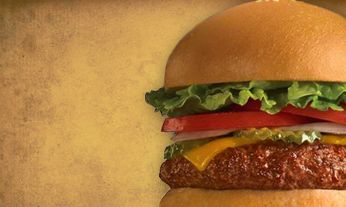 Fuddruckers - Multiple Locations: $8 for $16 Worth of Burgers and Classic American Fare at Fuddruckers in Boise or Meridian