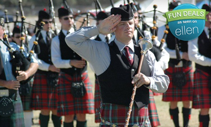 Tucson Celtic Festival & Scottish Highland Games - Ward 3: One-Day Admission Package for Two Adults or Two Adults and Two Children to Tucson Celtic Festival & Scottish Highland Games (58% Off)