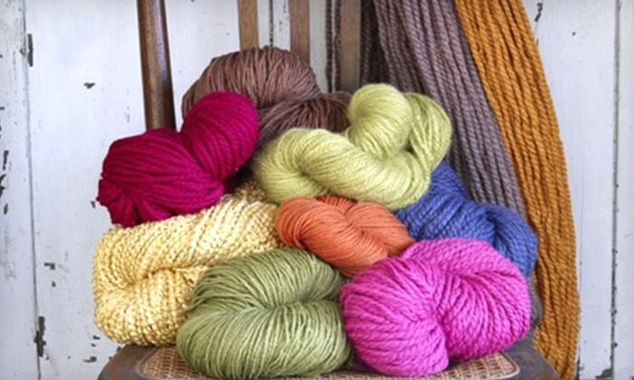 Lion Brand Yarn Studio - New York: $25 for $50 Worth of Merchandise or Classes at Lion Brand Yarn Studio