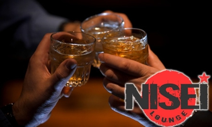 Nisei Lounge - Lakeview: $10 for $20 Worth of Beer, Wine, Liquor, and More at Nisei Lounge