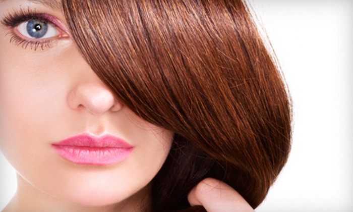 Whole Body Studio and Spa - Freeport: Moroccan Oil Treatment or Haircut and Partial Highlights at Whole Body Studio and Spa in Freeport