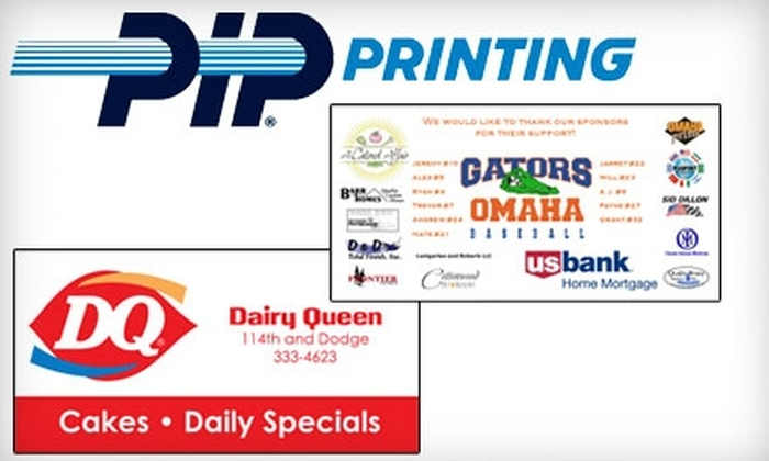 PIP Printing and Marketing Services - West Omaha: $76 for a Full-Color Banner at PIP Printing and Marketing Services ($192 Value)