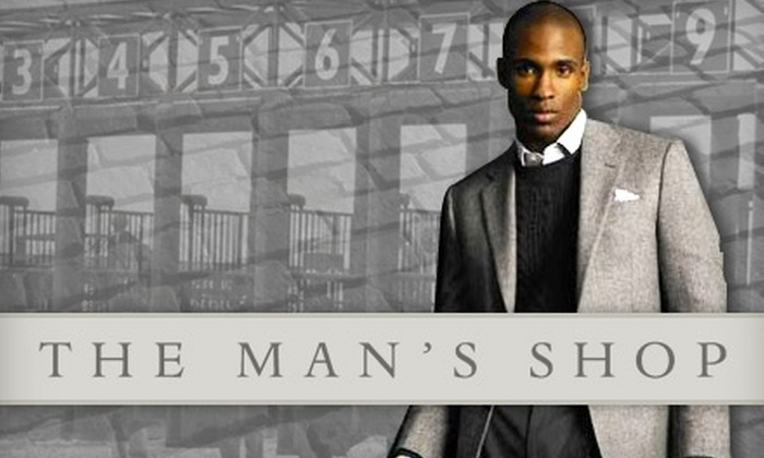 The Man's Shop - Arlington: $50 for $110 Worth of Clothing, Accessories, and More at The Man's Shop