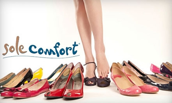 Sole Comfort - Newport Beach: $49 for $100 Worth of Designer Shoes and More at Sole Comfort in Newport Beach