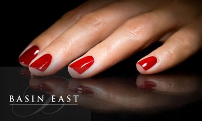 Basin East Salon - Fairport: $35 for a Two-Hour Ultimate Luxury Mani-Pedi at Basin East Salon