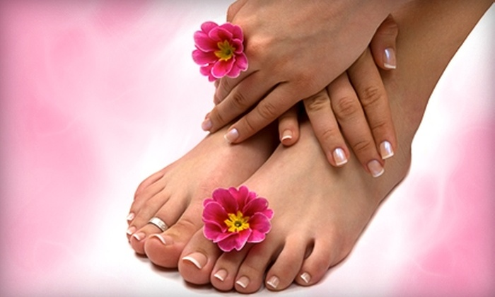 Everything Beauty Salon & Spa - Allen: Mani-Pedi or Hair Services at Everything Beauty Salon & Spa