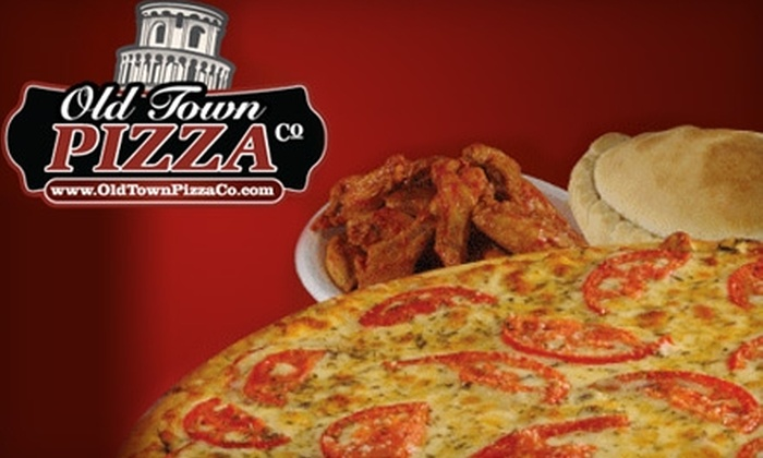 $10 for $20 Worth of Italian Fare Carryout from Old Town Pizza Co. Choose from Six Locations.