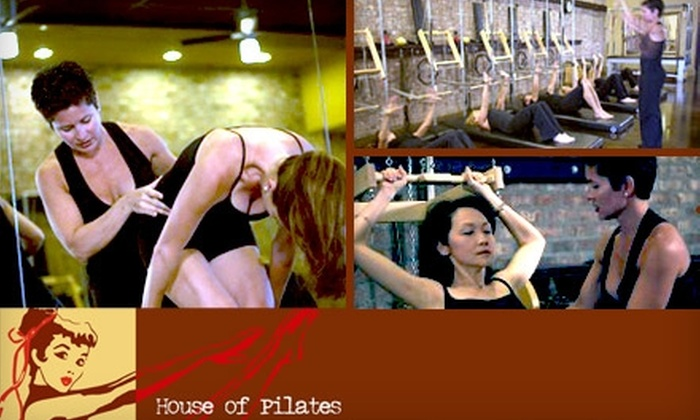 House of Pilates - Woodbury: $25 for Five Pilates Mat Classes at House of Pilates