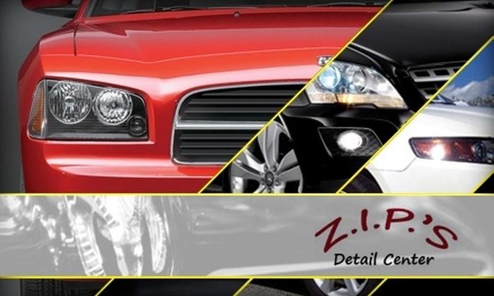 Z.I.P.'S Detail Center - Aksarben/Elmwood Park: $25 for One Express Detail at Z.I.P.'S Detail Center