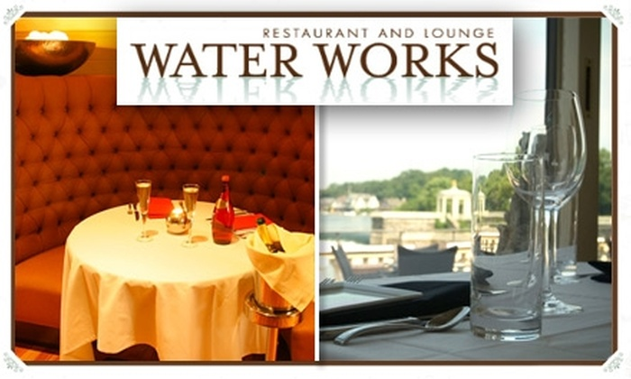 Water Works Restaurant and Lounge - Pennsauken: $25 Four-Course Prix-Fixe Dinner at Water Works Restaurant and Lounge ($50 Value)