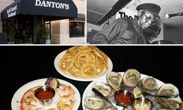 Danton's Seafood Kitchen - The Museum District: $15 for $30 of Bottomless Brunch Buffet, and a Complimentary Mimosa at Danton's Seafood Kitchen