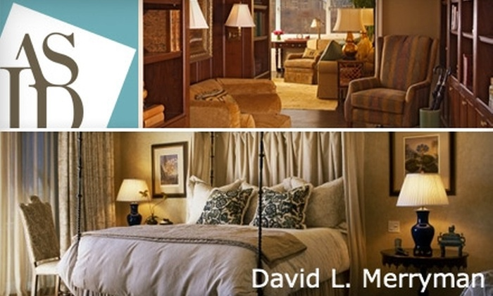 David L. Merryman - Houston: $80 for a One-Hour Consultation and One-Hour Shopping Trip with Interior Designer David L. Merryman ($500 Value)