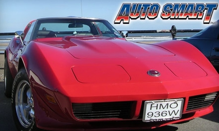 Auto Smart - Wichita: $32 for Two Oil Changes ($65.98 Value) or $50 for $100 Worth of Auto Services at Auto Smart