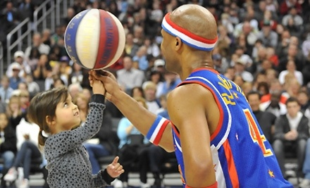 Harlem Globetrotters on Sat., Apr. 2 at 2PM: Second Tier Sec. 129 - Harlem Globetrotters in Minneapolis