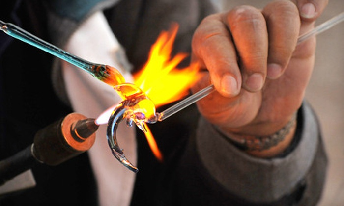 Luke Adams Glass - Norwood: $95 for a Three-Hour Glass-Blowing Class for Two at Luke Adams Glass in Norwood ($190 Value)