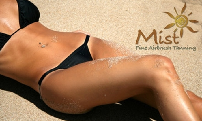 Mist - Montclair Business: $25 for a Full-Body Airbrush Tanning at Mist ($55 Value)