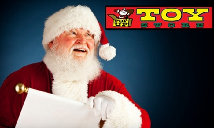 PopUp Toy Store - Lincoln Park: $20 for a Santa Photo-Shoot Package at PopUp Toy Store ($45 Value)