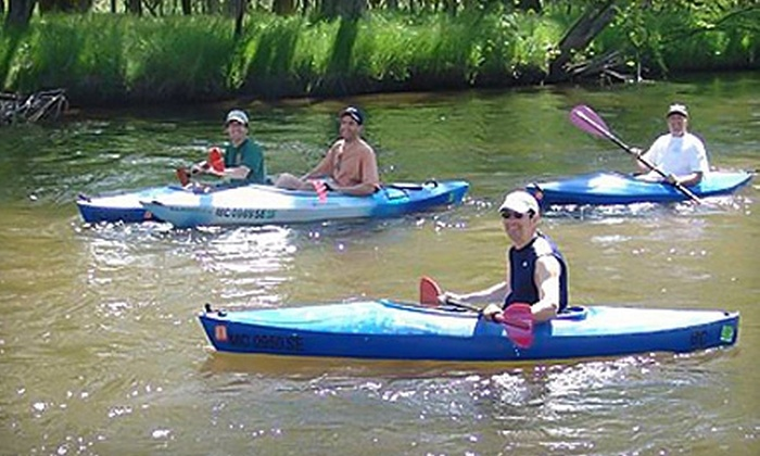 Baldwin Canoe Rental - Yates: Canoe or Kayak Rental from Baldwin Canoe Rental in Baldwin. Two Options Available.