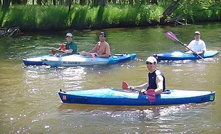 Baldwin Canoe Rental: 1 Canoe for a Four-Hour Rental - Baldwin Canoe Rental in Baldwin