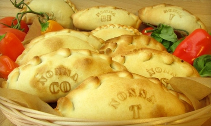 Nonna's Empanadas - Mid-City West: $10 for $20 Worth of Café Fare Plus Two Free Drinks at Nonna's Empanadas