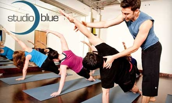 Studio Blue Pilates - Northwest District: $40 for One Month of Unlimited Classes at Studio Blue Pilates ($100 value)