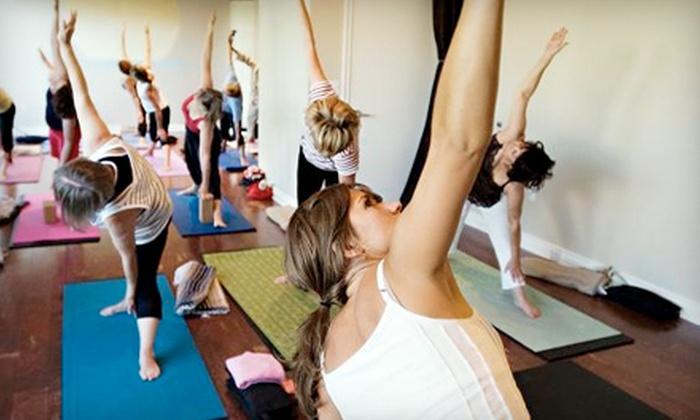 I Am Yoga Wellness Studio - Turlock: $29 for 10 Classes at I Am Yoga Wellness Studio ($95 Value)
