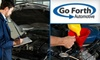 Go Forth Automotive - Tulsa: $25 for a Full-Service Oil Change, Multi-Point Inspection, and 4,000 Miles of Roadside Assistance from Go Forth Automotive