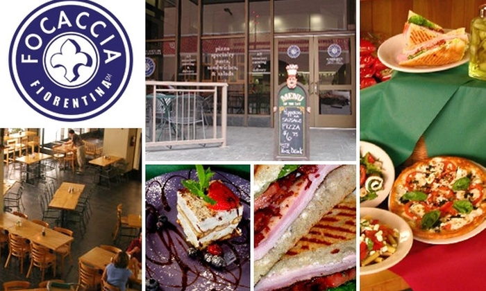 Focaccia Fiorentina - Downtown Phoenix: $10 for $25 Worth of Food and Drink at Focaccia Fiorentina