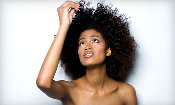 Allen Michael's Hair Salon - Nashville: $25 for Shampoo, Cut, Style, and Scalp Treatment at Allen Michael's Hair Salon in Clarksville ($55 Value)
