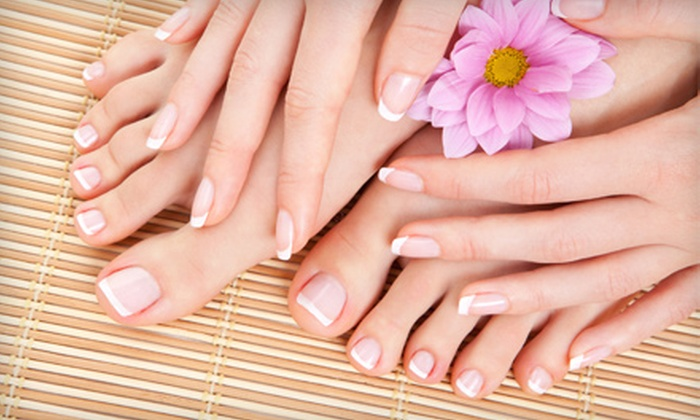 Body Boutique - Universal City: One or Two Spa Mani-Pedis at Body Boutique in Universal City (Up to 53% Off)