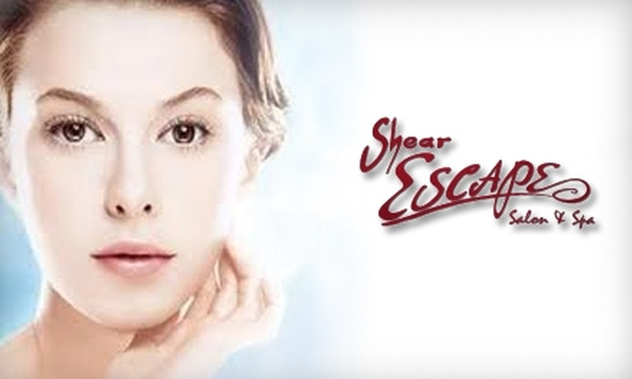 Shear Escape Salon & Spa - Albert Park: $35 for a Mini Mani-Pedi ($71 Value) or $25 for $50 Worth of Facial Services at Shear Escape Salon & Spa