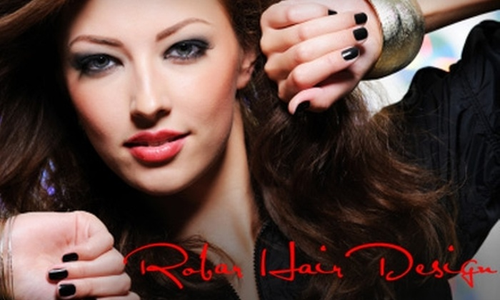 Robar Hair Design - Multiple Locations: $20 for a Mani-Pedi at Robar Hair Design ($40 Value). Two Locations Available.