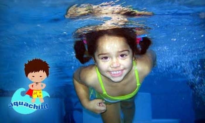 Aquachild Swim School - North Miami Beach: $20 for One Week of Swim Classes at Aquachild Swim School ($98 Value)
