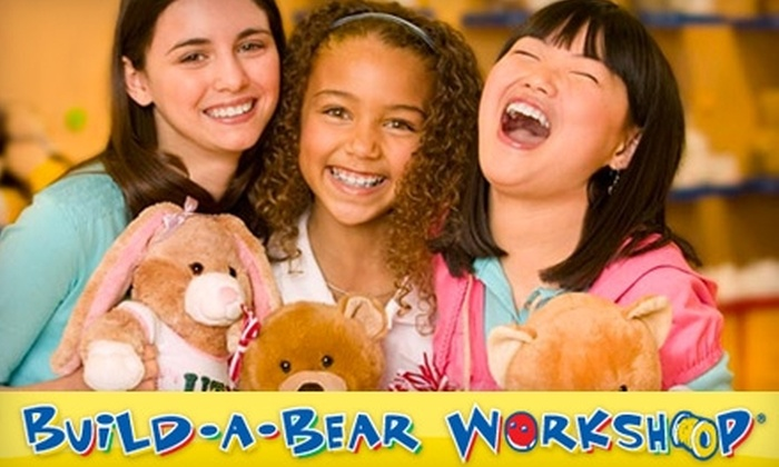 Build-A-Bear Workshop - Taylor North Houston: $10 for $20 Worth of Make-Your-Own-Bears or $25 for $50 Toward Any Build-A-Party Celebration at Build-A-Bear Workshop