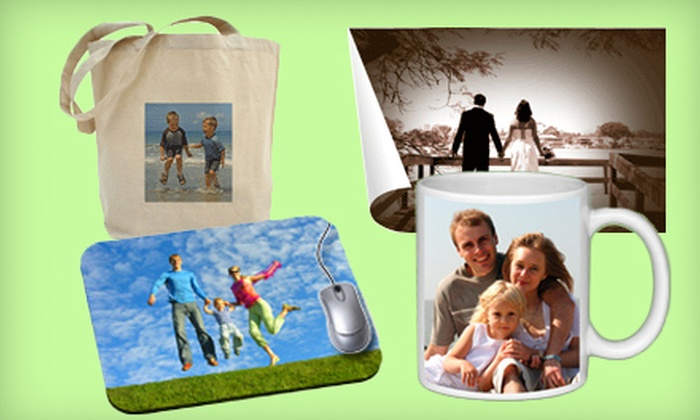 Discount Photo Gifts: $10 for $20 Worth Customizable Photo Gifts from Discount Photo Gifts