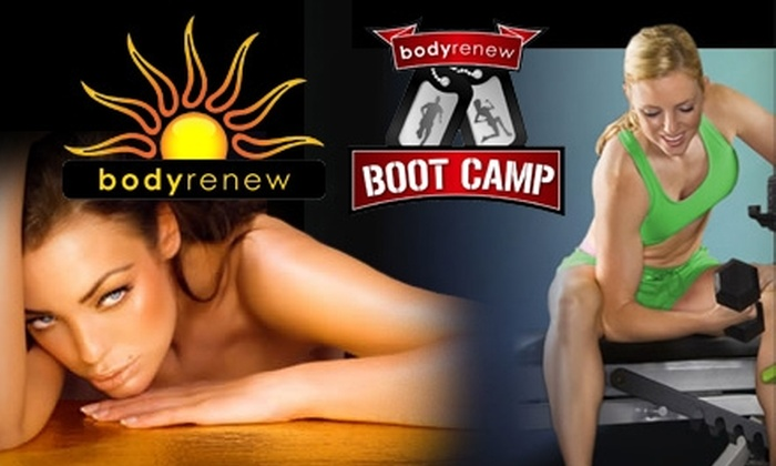 Body Renew Fitness - Multiple Locations: $39 for 30 Days of Boot-Camp Classes at Body Renew Fitness ($189 Value)