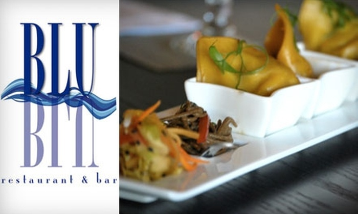 BLU Restaurant and Bar - Folly Beach: $15 for $30 Worth of Seafood Fare and Drinks at Blu Restaurant and Bar