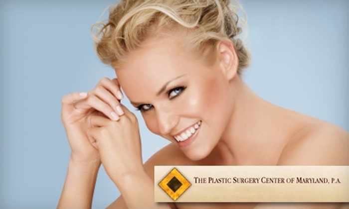 The Plastic Surgery Center of Maryland - Multiple Locations: $149 for One Dysport Treatment at The Plastic Surgery Center of Maryland