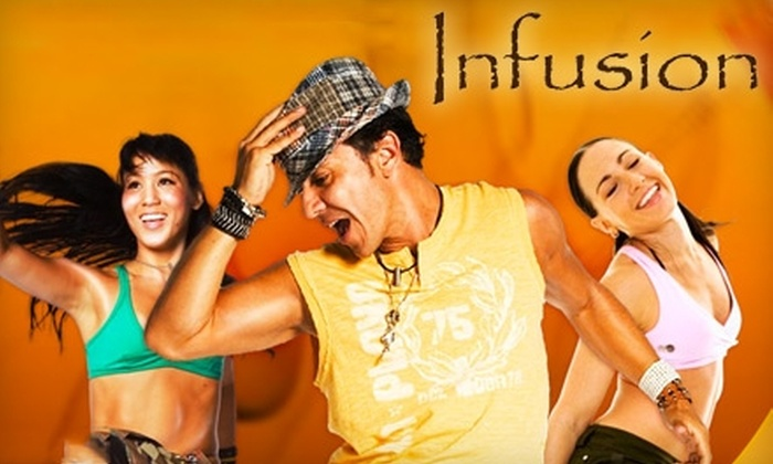 Infusion Yoga and Pilates Studio - Bountiful: $19 for 10 Zumba Classes at Infusion Yoga and Pilates Studio in Bountiful ($70 Value)