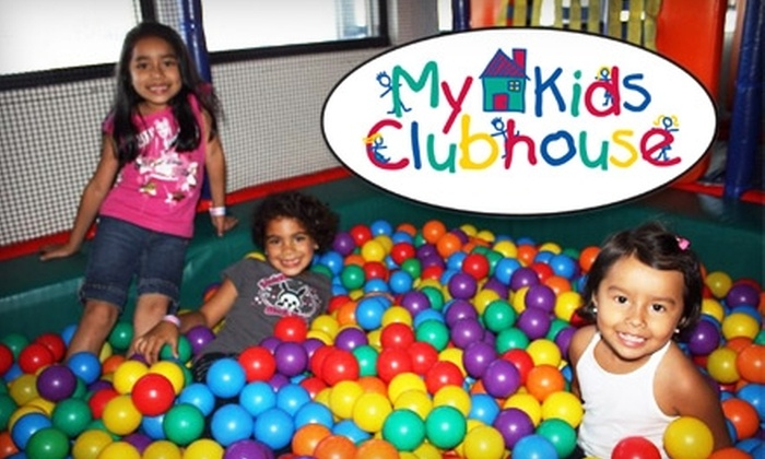 My Kids Clubhouse - Multiple Locations: $19 for Five-Admission Punch Card ($40 Value) or $29 for Three-Month Membership ($64 Value) to My Kids Clubhouse