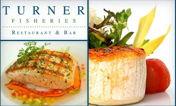 Turner Fisheries - Back Bay: $25 for $50 Worth of Dinner Cuisine or $10 for $20 Worth of Lunch at Turner Fisheries