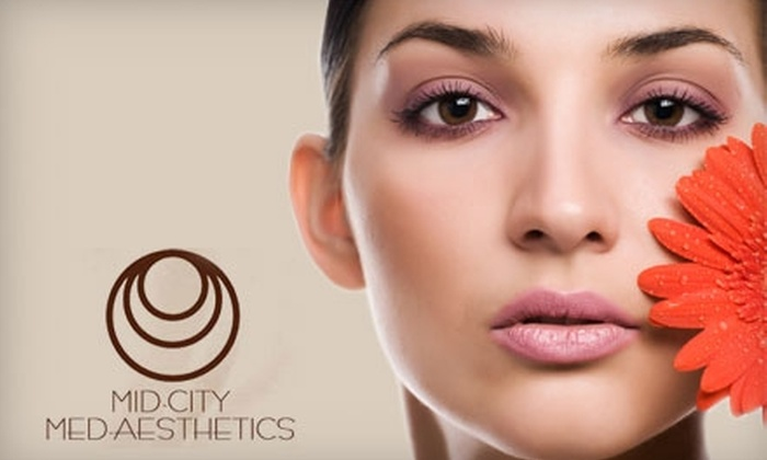 Mid-City Med Aesthetics - South Central Omaha: $35 for a Rejuvenating Microdermabrasion Treatment at Mid-City Med Aesthetics ($75 Value)